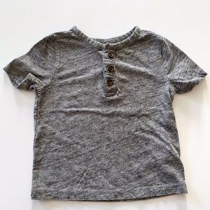 Old Navy Gray Henley Size 12-18 Months
